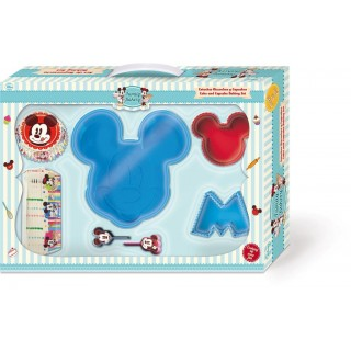 Kit Regalo Stampi Sagomati in Silicone  Mickey Mouse Disney Cake Design
