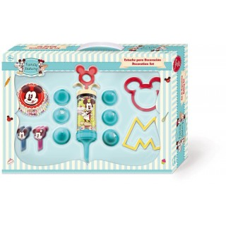 Kit Regalo Decorazioni e Stampini Mickey Mouse Disney Cake Design