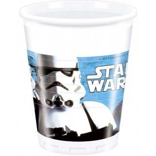 Star Wars Set 8 Bicchieri Party 20 CL