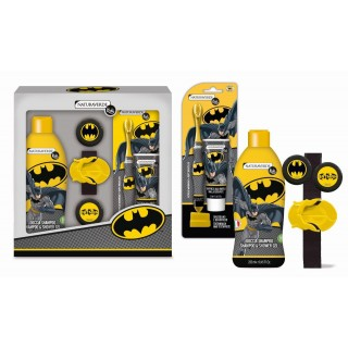 Naturaverde Kids Batman Set Regalo Doccia con Album Attività in Regalo