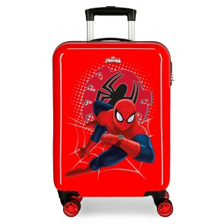 Trolley in ABS Spiderman Tech Rosso