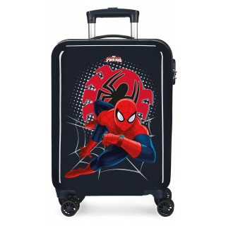 Trolley in ABS Spiderman Tech Nero