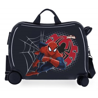 Valigia Cavalcabile Spiderman Tech Nera