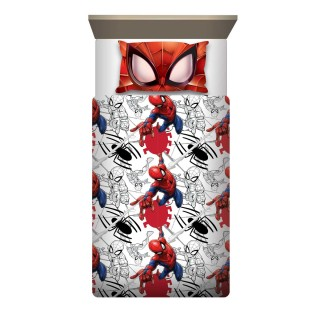 Completo lenzuola 1 piazza Spiderman Eyes