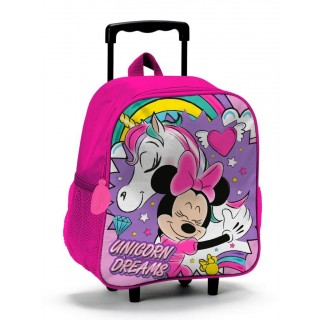 Minnie Unicorno Zaino Trolley Asilo