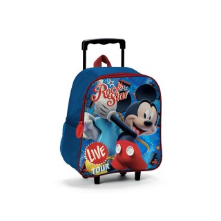 Zaino Trolley Asilo Mickey Mouse Rock Star