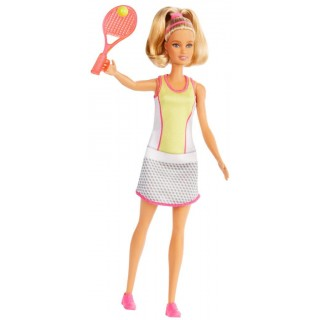 Barbie Bambola Tennista bionda You Can Be Anything