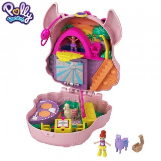 Polly Pocket Cofanetto Lama Music Party