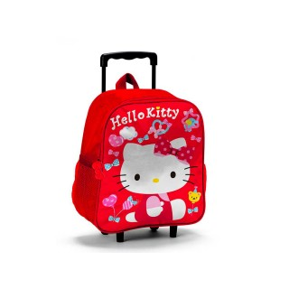 Zaino Trolley Asilo Hello Kitty