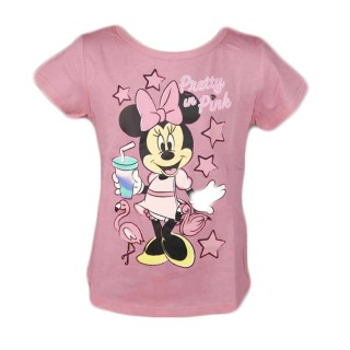T-Shirt Minnie Rosa Pretty in Pink