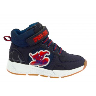 Spiderman Sneakers Alta Blu