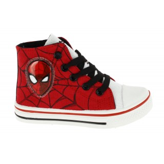 Sneakers Alta con Luci Spiderman