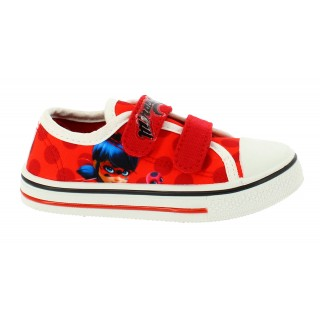 Sneakers Miraculous LadyBug Rosso