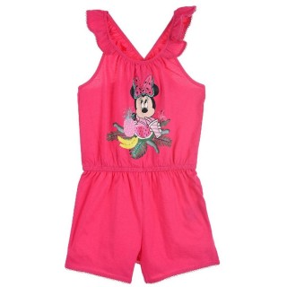 Tuta One Piece Disney Minnie Fuxia