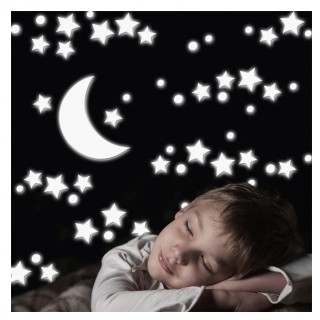 HomeDecor-LineKids Decorazioni White Stars