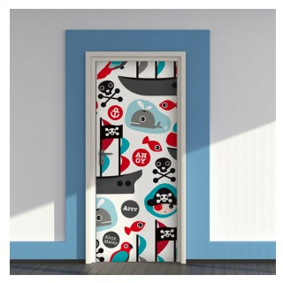 HomeDecor-LineKids Door Cover Pirates