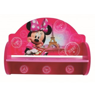 Disney Minnie Appendiabiti in legno Rosa