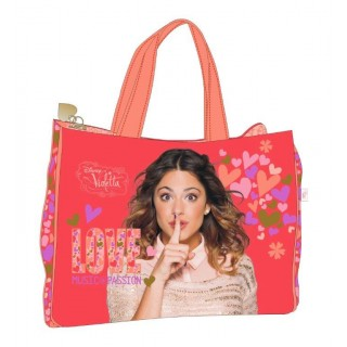 Disney Violetta Shopping Bag Music Love