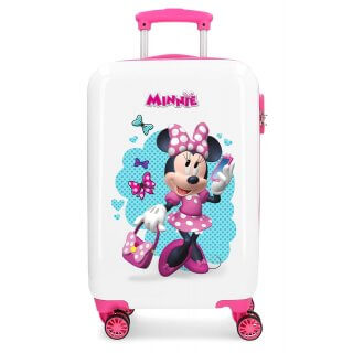 Trolley Bagaglio a Mano 55cm Disney Minnie Good Mood