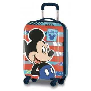 Valigia Trolley in ABS 53cm Mickey Mouse