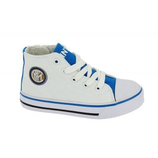Scarpa Sneakers Alta in Tela Inter