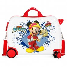Valigia Cavalcabile Disney Mickey Mouse Joy 2 ruote girevoli