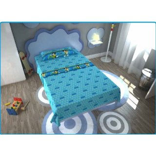Completo Lenzuola Letto 1 piazza Disney Mickey Mouse