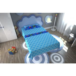 Completo Lenzuola Letto 1 piazza Marvel Avengers