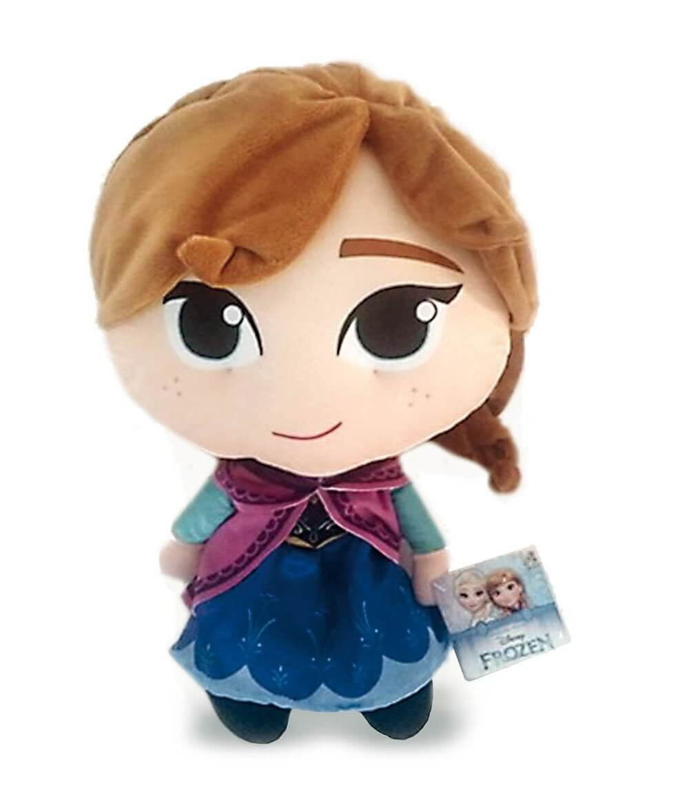 peluche grande anna disney frozen 37 cm. Black Bedroom Furniture Sets. Home Design Ideas