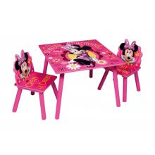 Set Tavolino e 2 Sedie Minnie simply charming