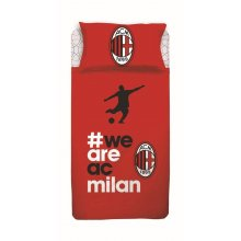 Completo Lenzuola We Are AC Milan